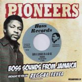 Pioneers with The Blenders - Dem A Laugh An-A-Ki-Ki / Dolly House On Fire (Boss / Reggae Fever) EU7""